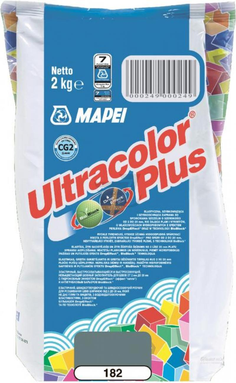Mapei Зат Ultracolor PLUS 182/2 турмалиновый