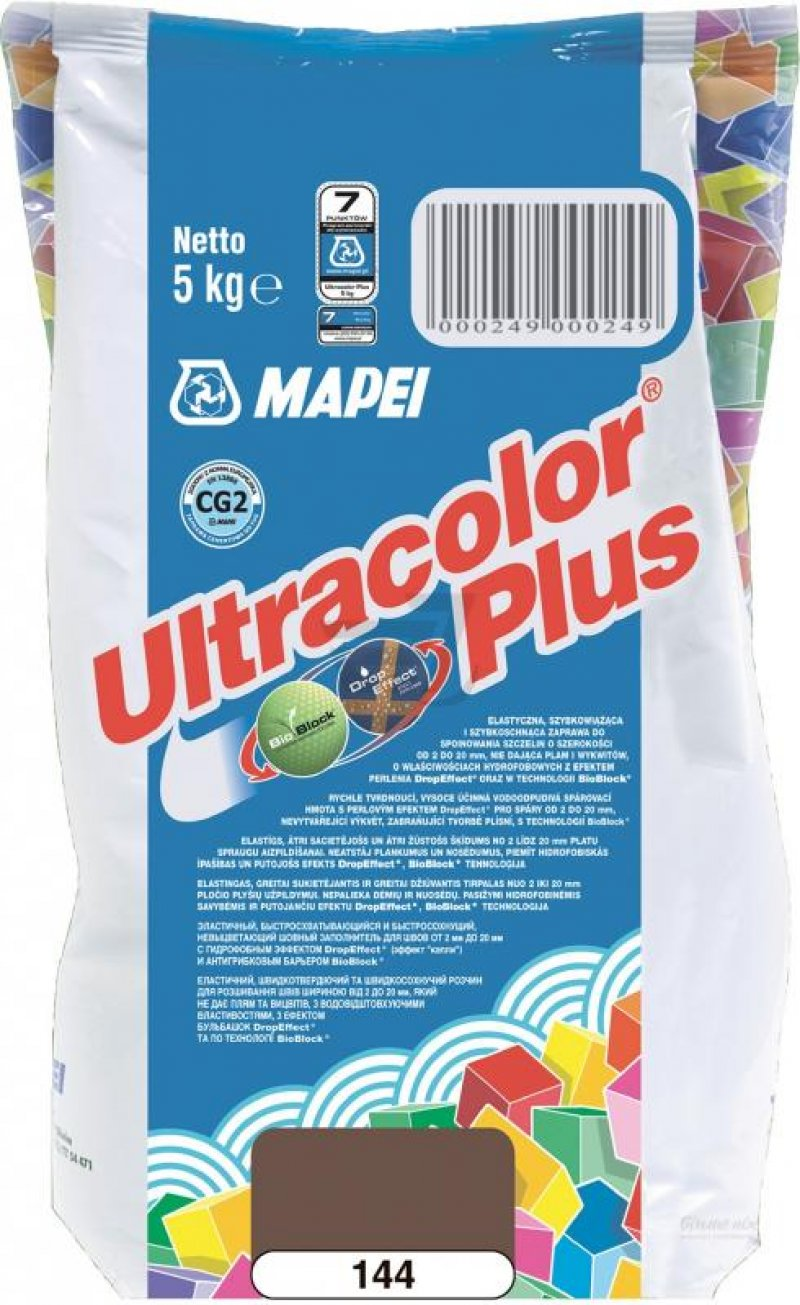 Mapei Зат Ultracolor PLUS 144/5 шоколадный