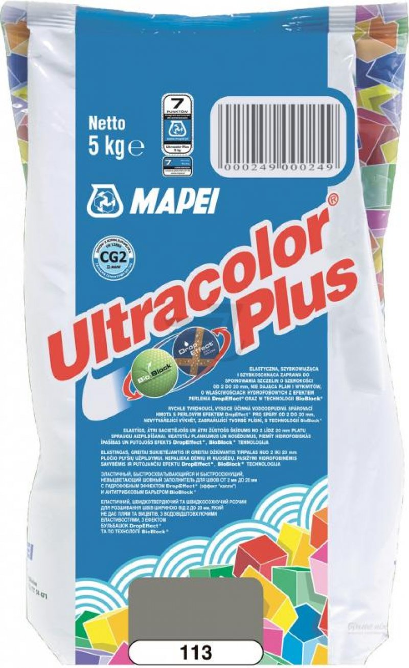 Mapei Зат Ultracolor PLUS 113/5 цементный